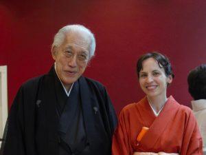 Dr. Genshitsu Sen in Slovenia