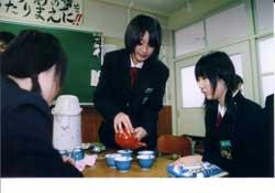 嬉野高校三年生 うれしの茶再発見の旅