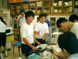 「オンリ-ワン」のさが体験活動-大野原中学校