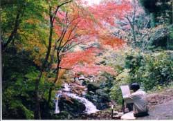 嬉野・春日渓谷の秋