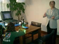 NHK「アインシュタインの眼」のロケクル-が我が家へ