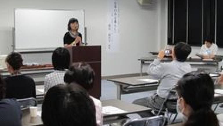 嬉野医療センタ- 心のきずな学講座で「お茶のある暮らし」を推奨