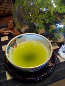 水出し煎茶が人気です。