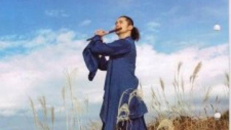 篠笛奏者佐藤和哉さんが茶荘徳永へ
