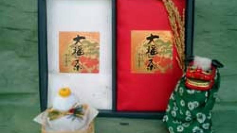 茶荘徳永の大福茶