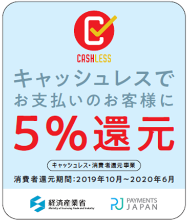 キャッシュレス還元・消費者還元制度の終了について